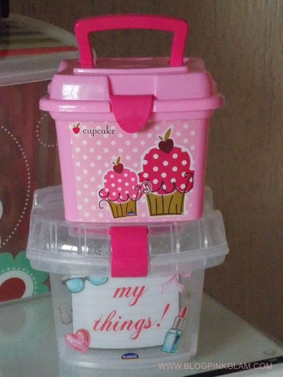 plasútil parceria blog pink glam box cupcake box my things