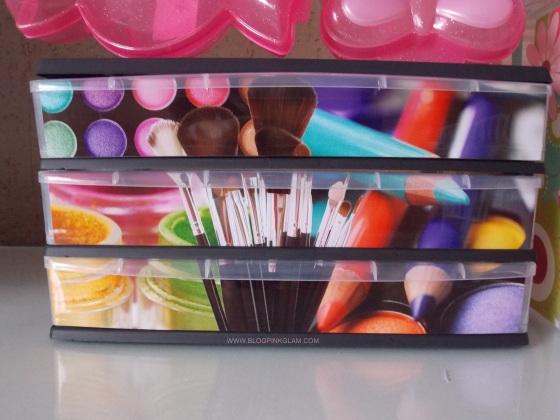 plasútil parceria blog pink glam gaveteiro decora
