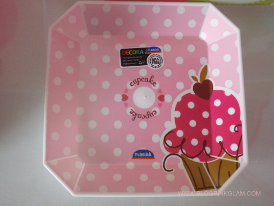 plasútil parceria blog pink glam prato sobremesa cupcake
