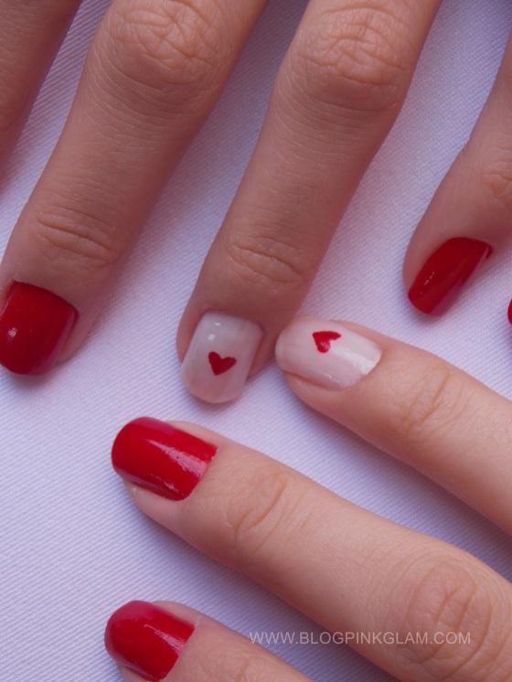 Nail art dia dos namorados 3