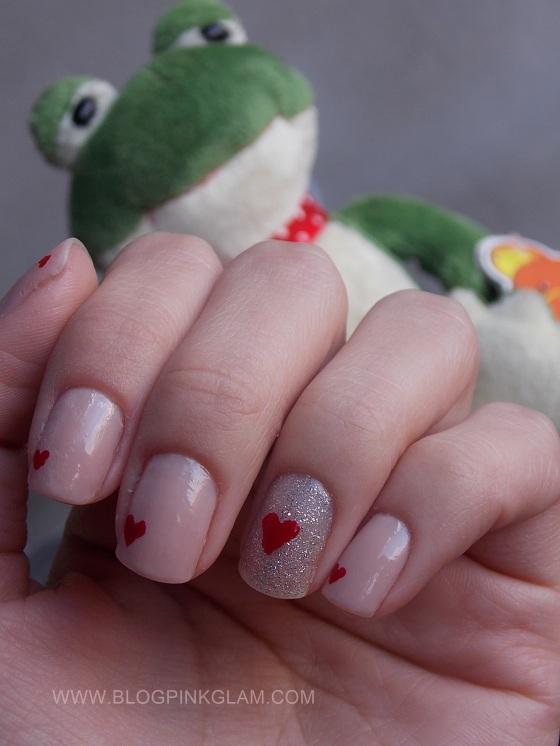 Nail art dia dos namorados 8